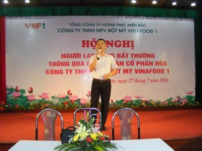 Văn Nghệ chào mừng hội nghi người lao động công ty TNHH MTV bột mỳ Vinafood 1